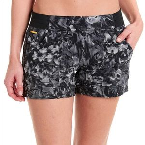 Lole Gayle Performance Short Black Digfleur, XS